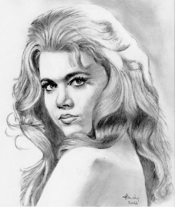 Jane Fonda by claireff1